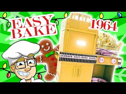 Cooking With Vintage Easy Bake Oven
