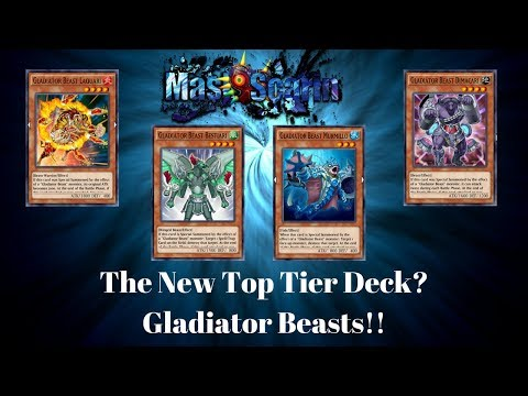 [Duel Links] Gladiator Beasts Wrecking Havoc!!!! New Top Tier Deck? | YuGiOh w/ MasKScarin