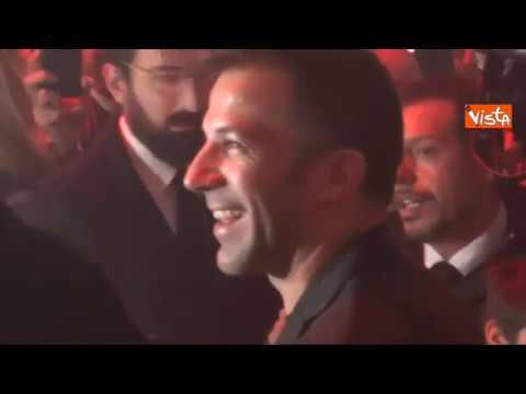 Staffelli consegna il Tapiro d'Oro ad Alex Del Piero