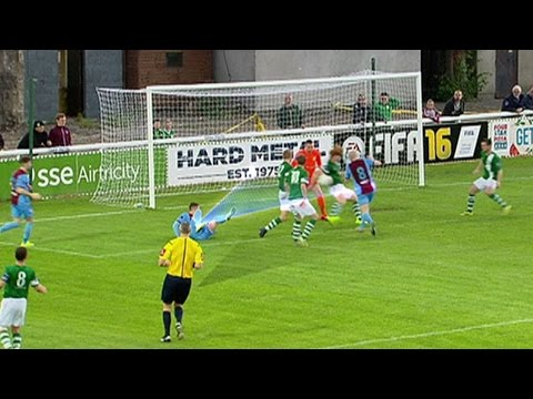 Bray Wanderers 1-0 Drogheda United  - 8th Aug 2015