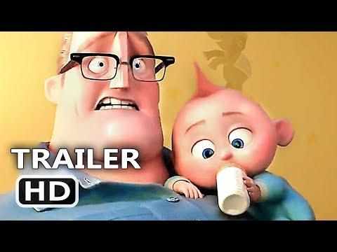 INCREDIBLES 2 Official Trailer (2018) Animation, Superhero Team Movie HD