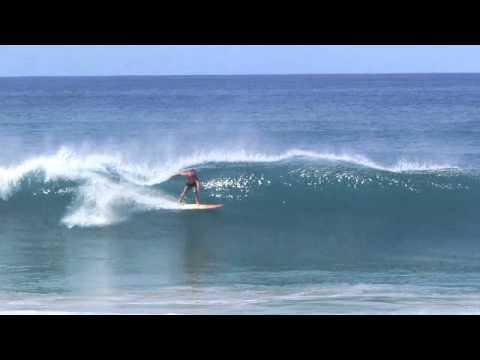 Surfing Sandy Beach Rincon Puerto Rico