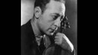 Heifetz 1939 Brahms III - Allegro giocoso, ma non troppo vivace