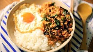 【蘿潔塔的廚房】打拋雞(做打拋豬也可以),簡單快速,超下飯,帶便當最適合了。