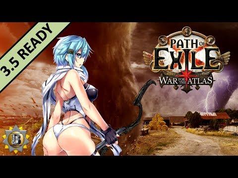 [3.5] Tornado Shot Build - Deadeye Ranger - Path of Exile War For The Atlas - Betrayal