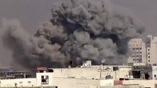 Damascus suburbs suffer shelling by