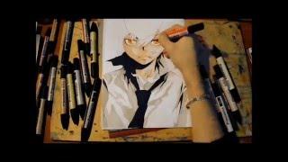 Speed Drawing Tsunayoshi Sawada - Katekyo hitman reborn