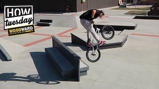 RideBMX - How-To: Feeble Hard-180 w/ Grant Germain