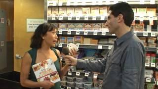 Making Vegan Cheese / Vegan Chef Miyoko Schinner Interview by Ken Spector - HappyCow