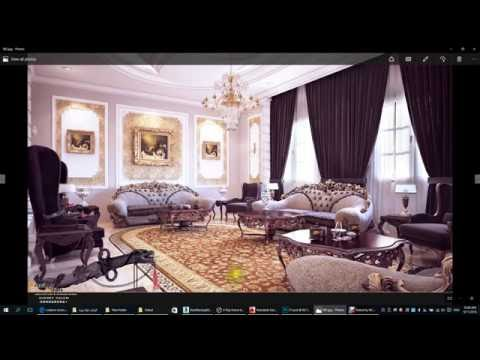 3D Max Classic Interior Modeling, Rendering, Vray 3.4, 3dsmax 2016