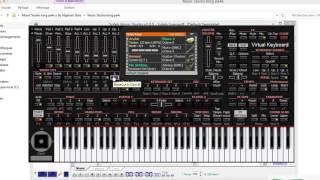 تحميل برنامج korg pa4x مع شرح طريقة التشريق وإضافة الإيقاعات والعزف 2016
