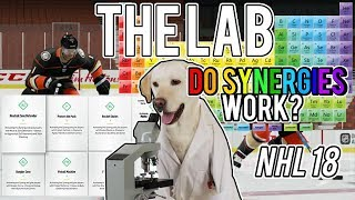 Do Synergies Matter? | Skating Test (NHL 18 Lab Experiment)