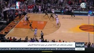 التلفزيون العربي | فينيكس صنز يتغلب على أتلانتا هوكس في دوري كرة السلة الأمريكي