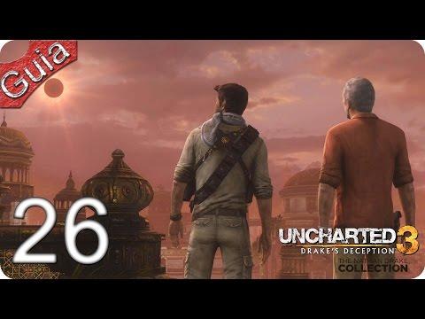 Uncharted 3 La Traición de Drake Remaster PS4 parte 26 Español