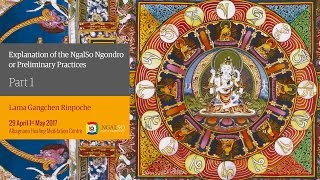 Explanation of the Ngalso Ngondro or Preliminary Practices (English – Italian) – 29 April/1 May 2017