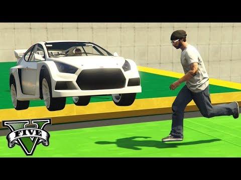 GTA V Online: PARKOUR vs FLASH GT - O NOVO CARRO do JOGO!!!