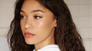 AN AESTHETIC MAKEUP ROUTINE   EVERYDAY MAKEUP ROUTINE