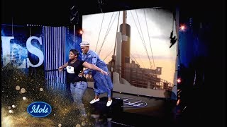 A TITANIC Wooden Mic audition – CPT Highlight | Idols SA