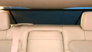 Rear Window Power Sunshade