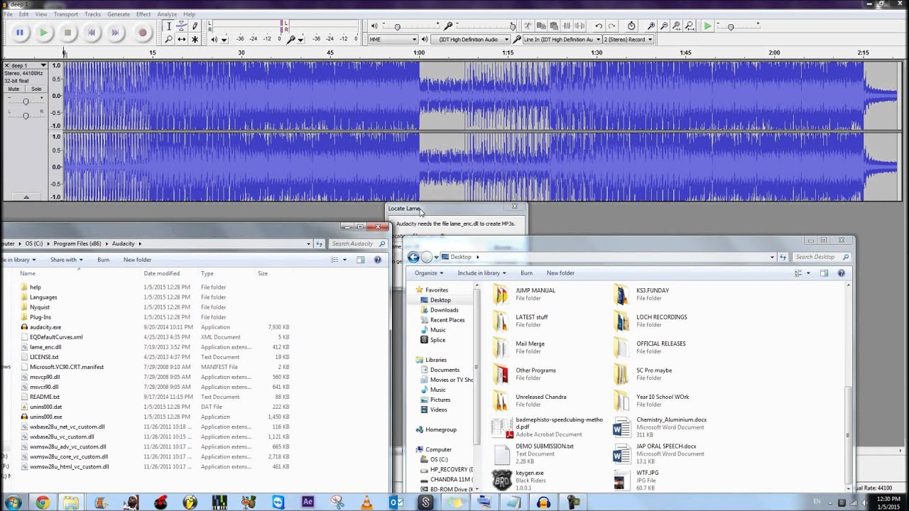 lameenc dll free download for audacity 2.1 2
