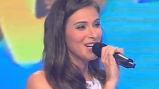 Russian Girl sings Sirena in WOWOWIN