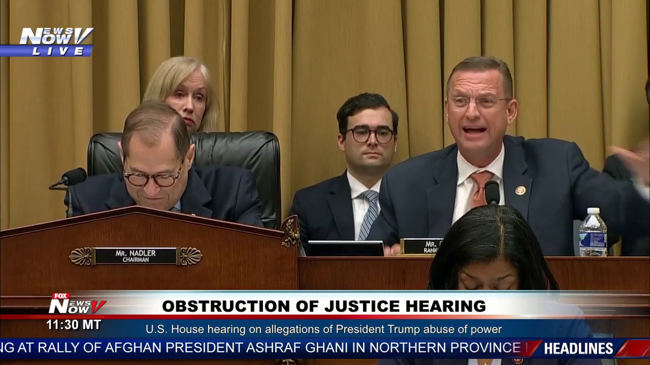 FOX 10 Phoenis MUST WATCH: Doug Collins EXPLOSIVE Opening Statement On Trump Impeachment Hearing