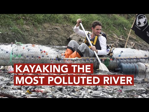 Kayaking down the World's Most Polluted River, the Citarum River