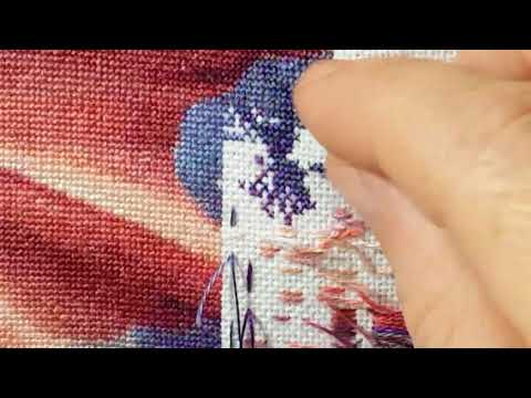 Cross-stitching - Stitch with Me - 1 over 1 - Dragon Kin - HEAD Heaven and Earth Designs