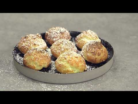 Recette de Chouquettes mi sucre, mi amandes !