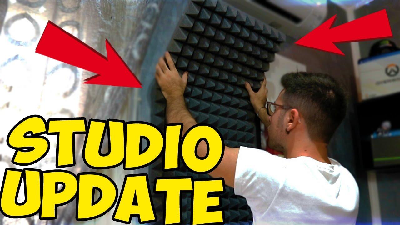 Aggiorniamo Il Mio Studio Pannelli Fonoassorbenti Youtube