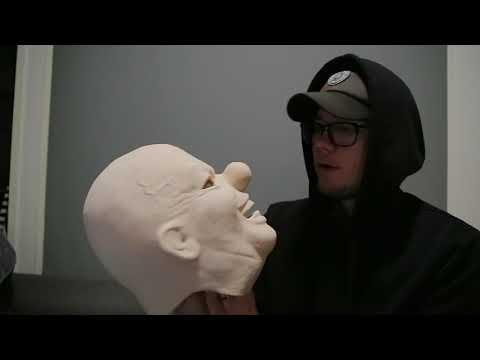 Slipknot IOWA Sid & TTE Clown Mask - UNBOXING