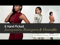 8 Hand Picked Jumpsuits, Rompers & Overalls By Felicity Young, Winter 2017