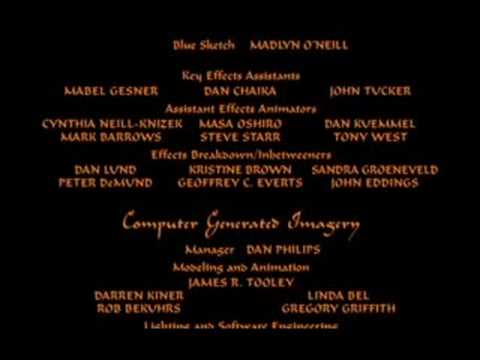 Aladdin End Credits