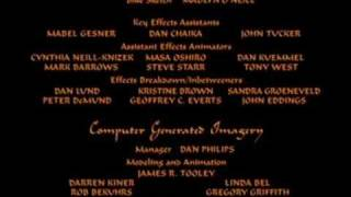 Aladdin End Credits