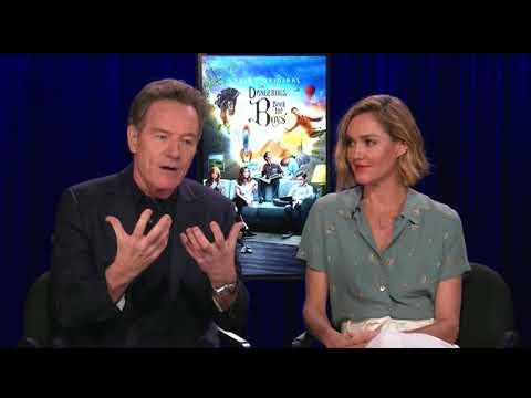 "Bryan Cranston & Erinn Hayes talk Amazon's ""The Dangerous Book for Boys"""