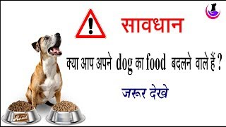 Caution!! Are you planning to change your dog food?
