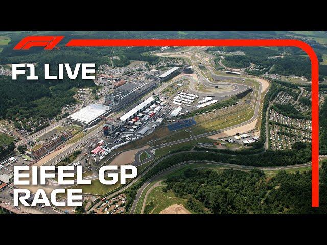 F1 LIVE: 2020 Eifel Grand Prix - Race | No Commentary