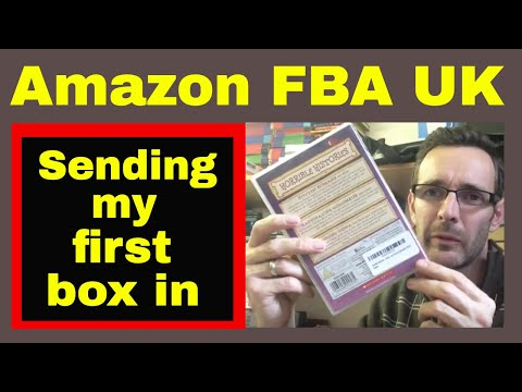 My first Amazon FBA UK shipment
