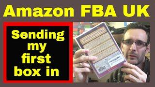 My first Amazon FBA UK shipment