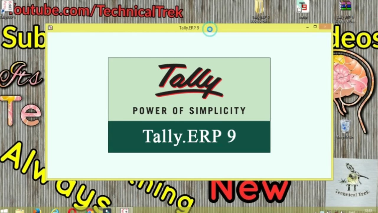 tally 9.1 download
