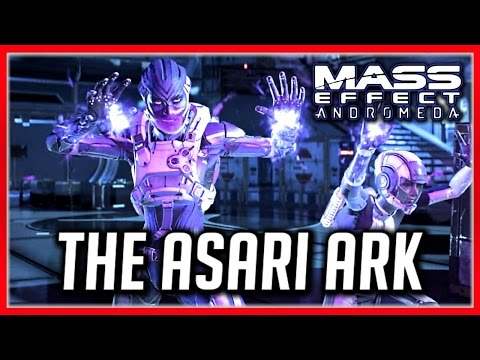 Mass Effect Andromeda: Find the Asari Ark & Pathfinder - Cora's Loyalty Mission