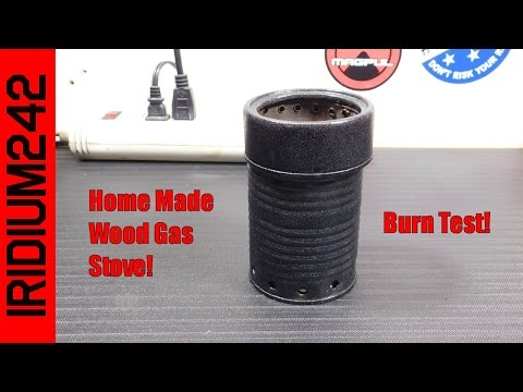 Home Made Wood Gas Stove
