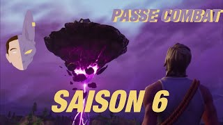 WARNING ON THE SAISON COMBAT PAS 6 WITH LDX / FORTNITE BATTLE ROYALE