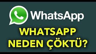 WhatsApp Çöktü mü ? WhatsApp' a ne oldu?  İşte Ayyıldız Tim' den Açıklama !!!
