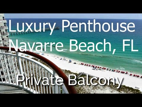 Navarre Beach Colony, Luxury Penthouse, 3 Bed/3 Bath, Free Internet!