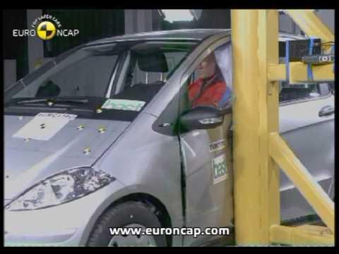 Euro NCAP   Mercedes Benz A Class   2005   Crash test