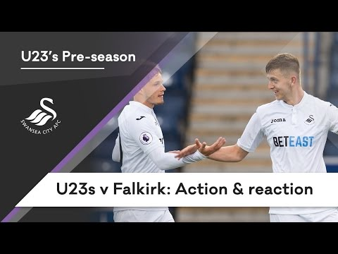 Swans TV - Swans U23s v Falkirk: Action & reaction