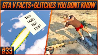 GTA 5 Facts and Glitches You Don't Know #33 (From Speedrunners)