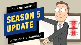 Rick And Morty: Season 5 Update And More With Chris Parnell