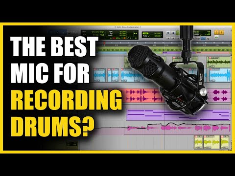 The Best Mic for Recording Drums? - Lauten LS-208